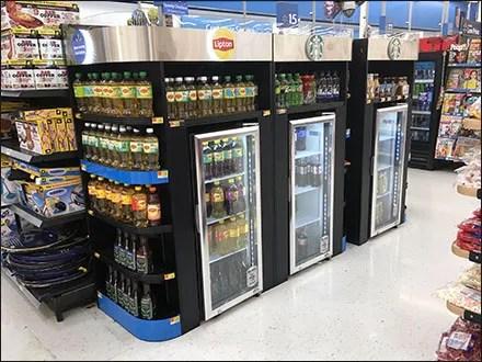 Grab-&-Go Beverage Mass Merchandising
