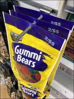 Gummi Bears Right-Angle Display Hook