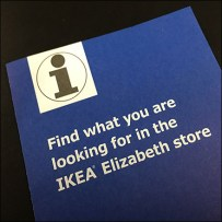 IKEA Carry-Along Merchandise Locator