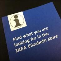 IKEA Carry-Along Merchandise Locator