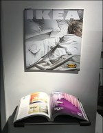 IKEA Catalog Reading Nook Wall-Shelf