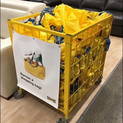 IKEA Shopping Bag Mobile Bulk-Bin