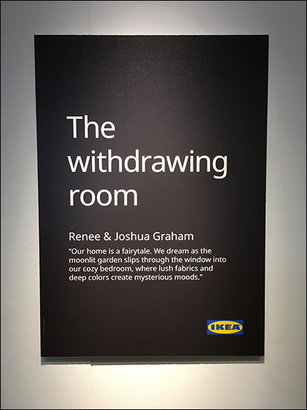 Mysterious-Moods IKEA Withdrawing Room Lifestyle