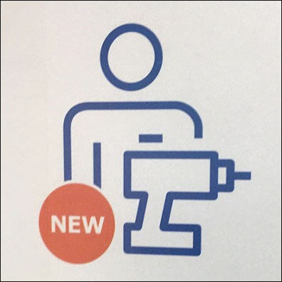 Assembly Service Available Ceiling Sign