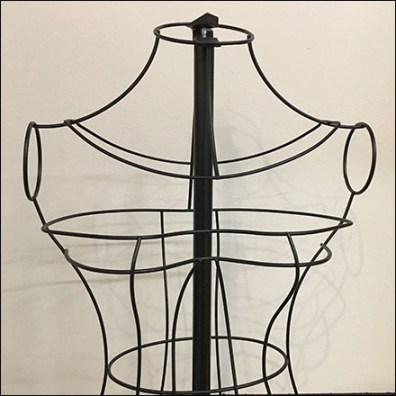IKEA Open-Wire Dress Form Prop