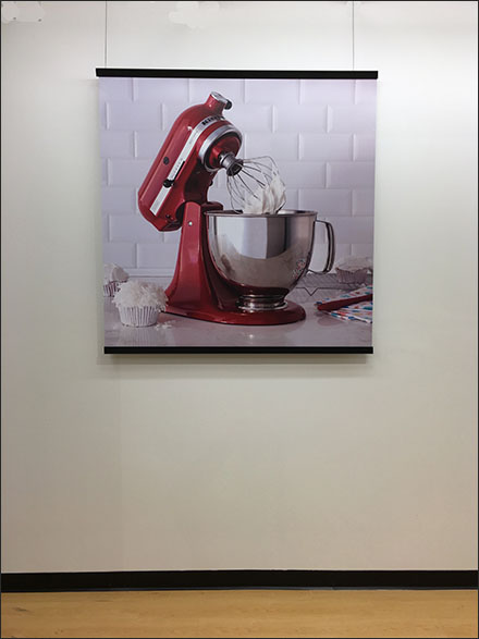 KitchenAid Mixer Still-Life Poster In-Store