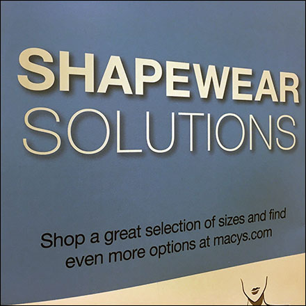 Women's Shapewear Solutions Progression