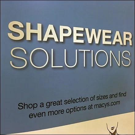 Women's Shapewear Solutions Progression