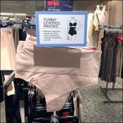Women's Tummy-Control-Panties Faceout Sign