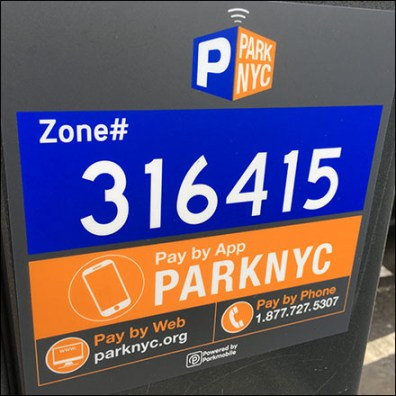 NYC Parking-Meter Mobile App and More