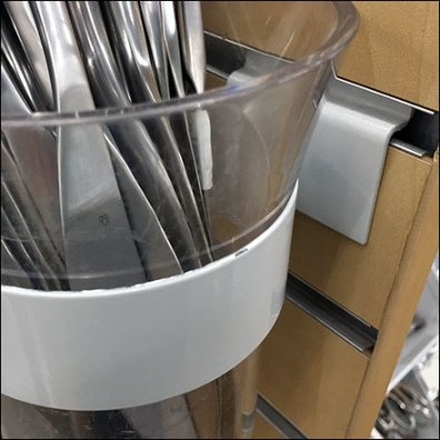 Tableware Slatwall Ring-Hook Details