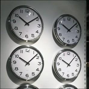 Wall Clock Endcap Display Merchandising
