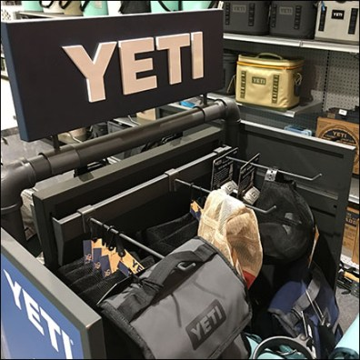 Yeti Branded Bar-Mount Display Hook