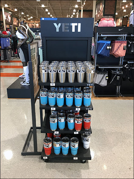 Yeti-Branded Insulated Tumbler Tower