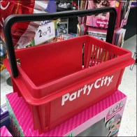 Party-City 6-Pack-Size Shopping Basket