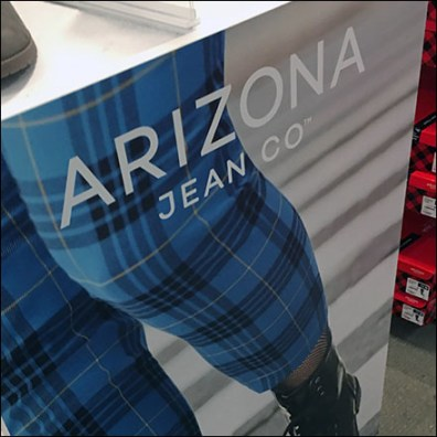 Arizona-Jean Shoe-Aisle Plaid Billboard