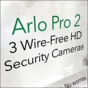Arlo Pro-2 HD-Camera Pallet-Rack-Display