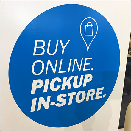 Buy-Online Pickup-In-Store At The Registers