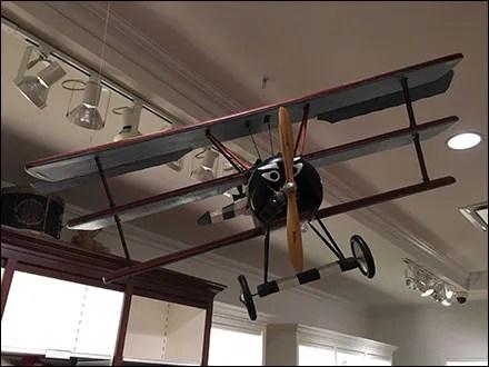 Carter's Fokker Triplane Visual Merchandising 1