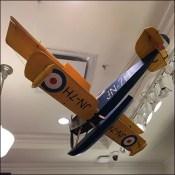 Carter's Vintage-Seaplane Visual Merchandising Prop