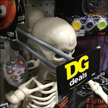 Dollar General Halloween Deals Scan-Hook Callout Feature