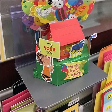 Hallmark Pop-Up Greeting-Card Diorama Shelf