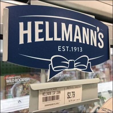 Hellman's Tartar-Sauce Cooler-Frame Rack