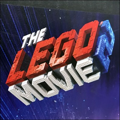 Lego Movie Poster Corrugated Sidekick