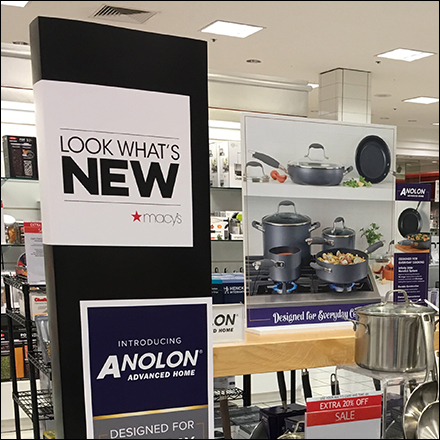 Look-Whats-New Anolon Cookware Display