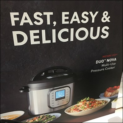 Look-Whats-New Pressure Cooker Display