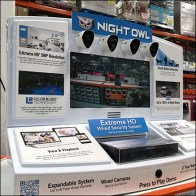 4-Camera Pallet-Rack-Display
