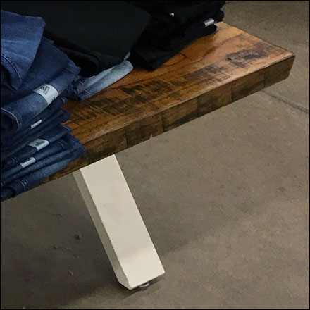 Rockstar Wood-Slab Trestle-Table Design
