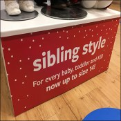 Sibling Style Fashion Cross-Sell Promotion