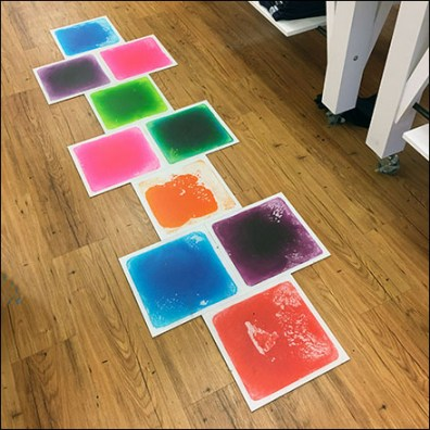 Skip-Hop Hop-Scotch In-Store Floor-Graphic