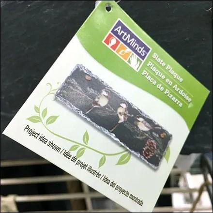 Slate Blackboard Twine-Hang Merchandising
