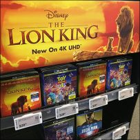 Electronic-Price-Tag Movie-Display Label-Strip