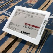 Electronic-Price-Tag Shallow Acrylic-Easel