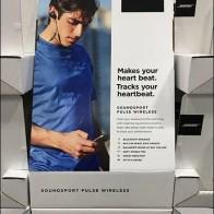 Bose Sports Earbud Headphone Display Aux