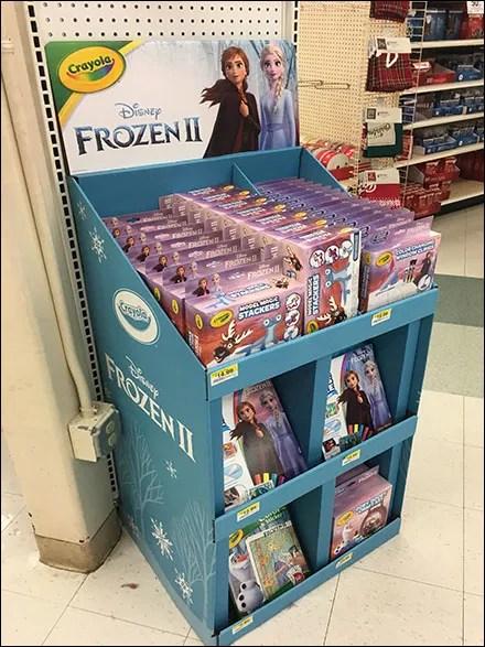 Disney Frozen Model Magic Stacker Display