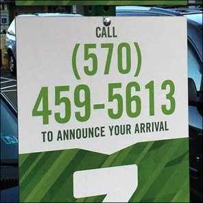 Giant BOPIS Announce-Your-Arrival By Phone