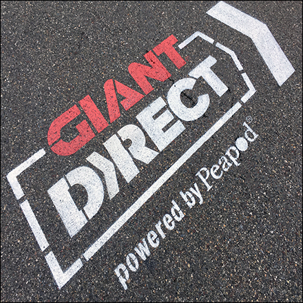 Giant Markets BOPIS Parking Lot Directionals