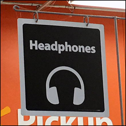 Walmart Overhead Headphone Category Definition
