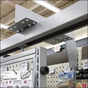 High-Density Two-Layer Pegboard Hanger Details