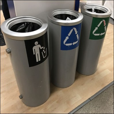 IKEA Choice-of-Three Recycling Bins