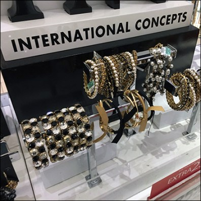 INC International Concepts Jewelry Display