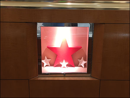 Macy's Star-Filled Wall Niche is Speechless