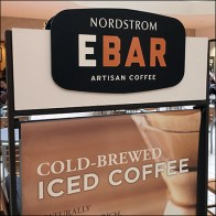 Nordstrom Mall-Concourse Coffee Advertising