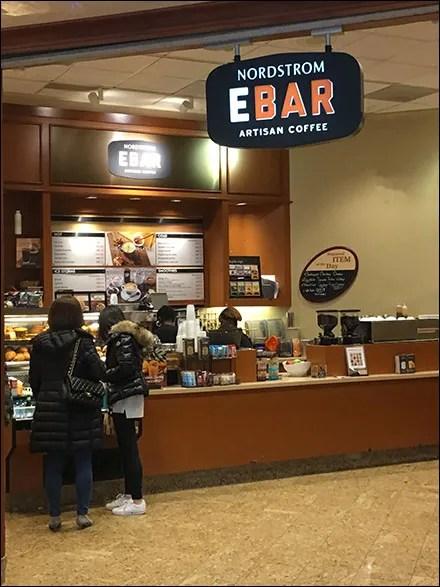 Nordstrom Ebar Mall-Concourse Entry Branding