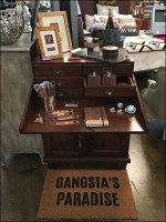 Gandgsta's Paradise Speakeasy Staging