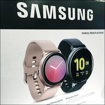 Samsung Active-Lifestyle Wristwatch Display